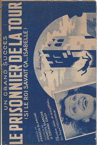 Edith Piaf | Francis Blanche | Gerard Calvi | Le prisonnier de la tour | Chanson