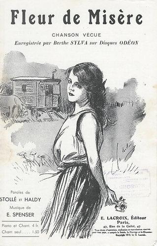 Berthe Sylva   Emile Spencer   Fleur de Misere   Chanson