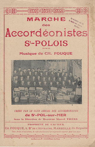 Ch. Fouque | Marche des Accordeonistes St-Polois | Accordion | Violin