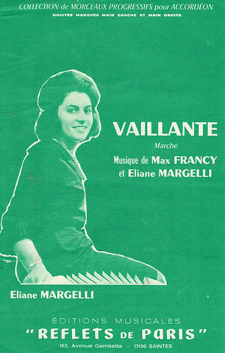 Max Francy | Eliane Margelli | Vaillante | Accordion
