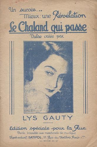 Lys Gauty   A. Persiani   Prison d'Amour   Chanson