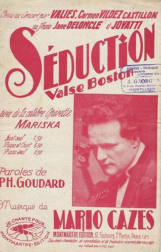 Mario Cazes   Seduction   Chanson
