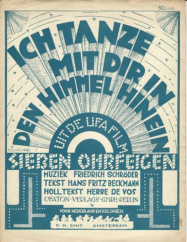 Friedrich Schroder | Ich tanze met dir in den Himmel hinein | Piano | Vocals