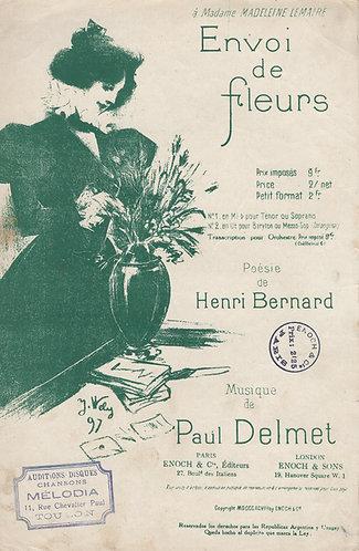 Paul Delmet | Envoi de Fleurs | Chanson
