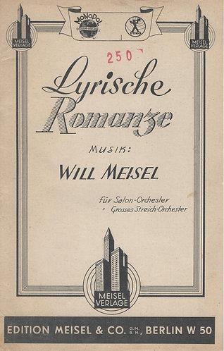 Will Meisel | Lyrische Romanze | Guitar