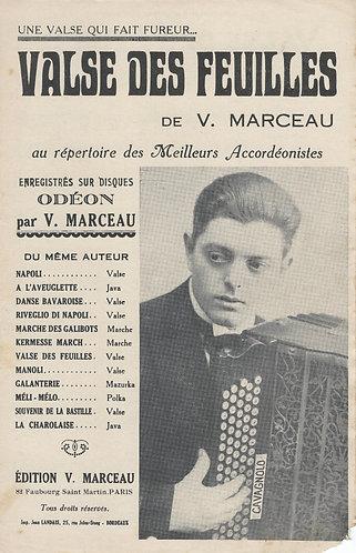 V. Marceau | Valse des Feuilles | Accordion