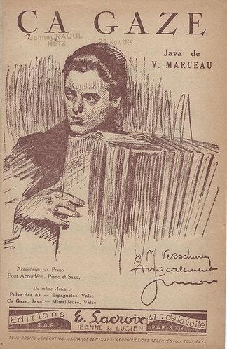 V. Marceau   Ca Gaze   Piano   Accordion