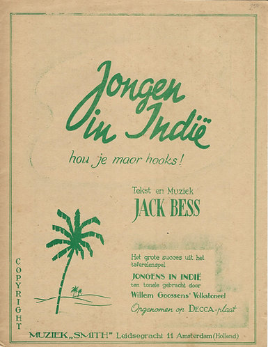 Jack Bess | Jongen in Indie | Piano | Vocals