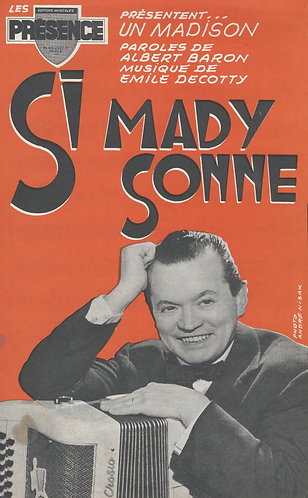 Emile Decotty | Si Mady Sonne | Orchestra