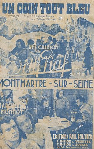 Edith Piaf | Marguerite Monnot | Un coin tout bleu | Chanson
