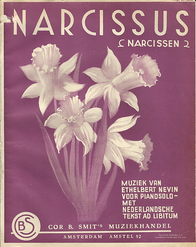 Ethelbert Nevin | Narcissus | Piano | Vocals