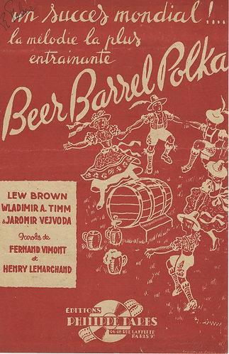 Lew Brown | Beer Barrel Polka | Vocals