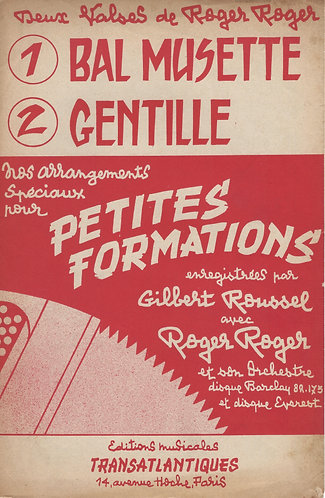 Roger Roger | Gentille | Accordion | Violin
