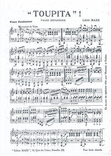 Leon Maes | Toupita | Piano
