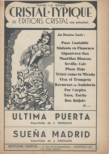 J. Castillos | Ultima Puerta | Accordeon