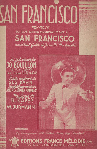Jo Bouillon | B. Kaper | W. Jurmann | San Francisco | Chanson