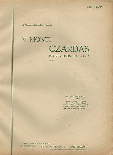 Vittorio Monti   Czardas   Piano   Violin