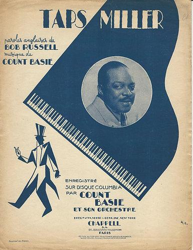 Count Basie   Taps Miller   Piano   Vocals   Jazz