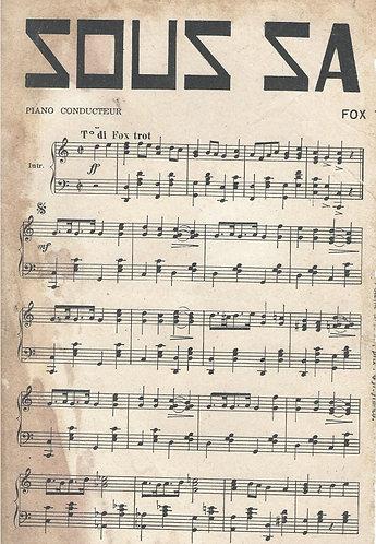 Charles Babin | Sous sa fenetre | Piano