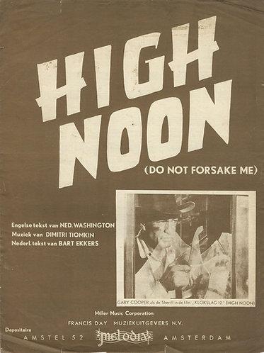 Dimitri Tiomkin | High Noon | Do not forsake me | Piano | Vocals
