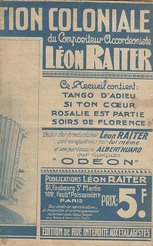 Leon Raiter   Geo Sunday   Soirs de Florence   Chanson