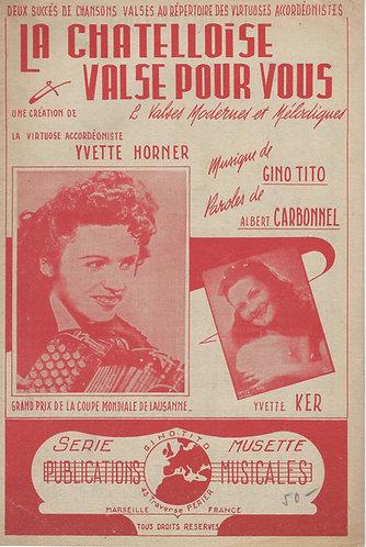 Gino Tito | Yvette Horner | Valse pour vous | Orchestra
