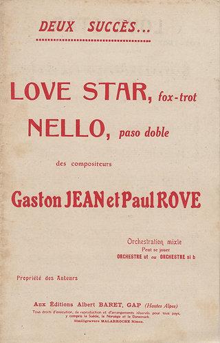Gaston Jean | Paul Rove | Love Star | Orchestra