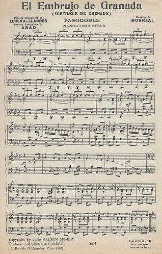 Monreal   Embrujo de Granada   Piano
