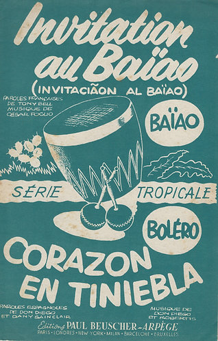 Casar Foglio | Tony Bell | Invitation au Baiao | Vocals