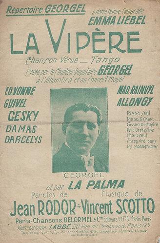 Georgel   Vincent Scotto   La Vipere   Chanson