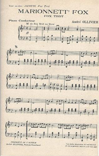 Andre Ollivier | Marionett Fox | Piano