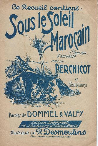 R. Desmoulins | Sous le Soleil Marocain | Chanson