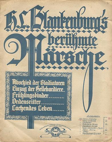 H.L. Blankenburg | Lachendes Leben | Piano