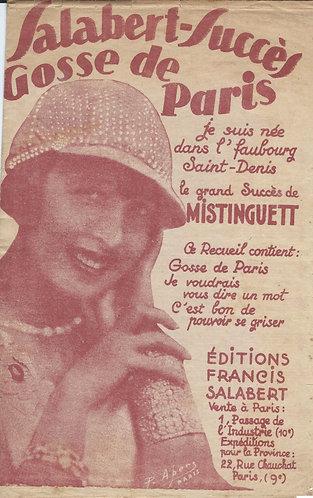 Mistinguett | Rene Sylviano | Gosse de Paris | Chanson