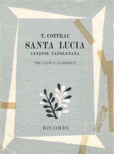 Teodoro Cottrau | Santa Lucia | Piano | Vocals