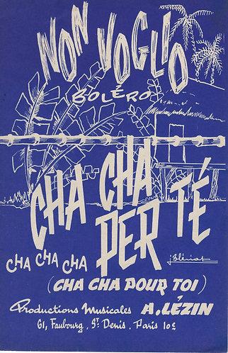 G. Andreoli | Cha Cha Per Te | Melodie Violon