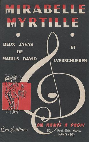 Marius David | Myrtille | Piano