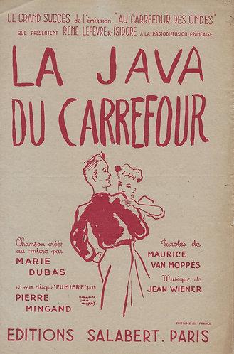 Marie Dubas | Jean Wiener | La Java du Carrefour | Chanson