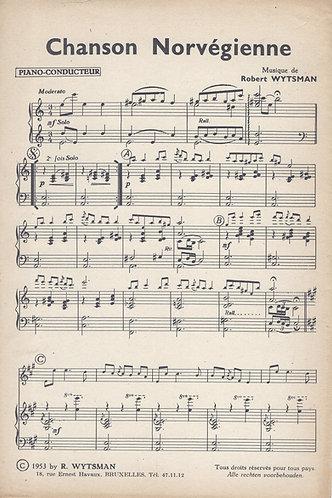 Robert Wytsman | Chanson Norvegienne | Piano