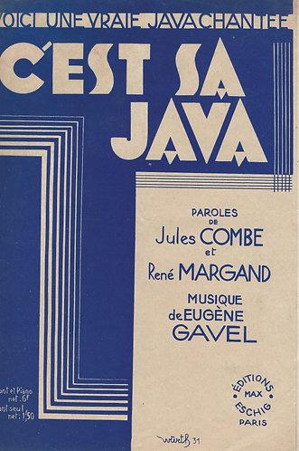 Eugene Gavel   Jules Combe   C'est ca Java   Chanson