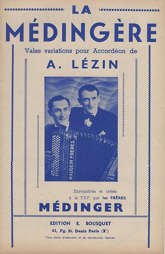 Freres Medingere | La Medingere | Accordion