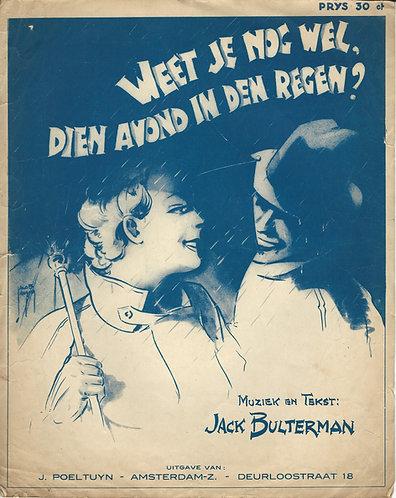 Jack Bulterman | Weet je nog wel dien avond in den regen | Piano | Vocals