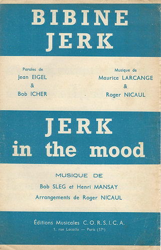 Bob Sleg | Jerk in the mood | Small Orchestra