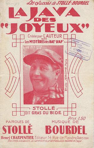 Bourdel | Stolle | La Java des Joyeux | Vocals