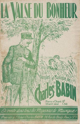 Charles Babin | La valse du bonheur  | Vocals