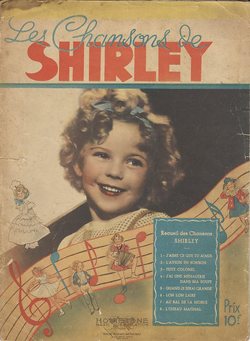 Shirley Temple | Les Chansons de Shirley | Piano | Vocals