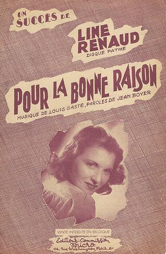 Line Renaud | Louis Gaste | Pour la Bonne Raison | Vocals