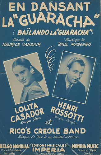 Raul Marengo   Lolita Casador   En Dansant La Guaracha   Vocals