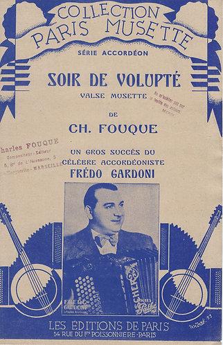 Fredo Gardoni | Ch. Fouque | Soir de Volupte | Accordion