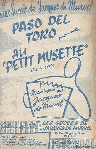 Jacques de Murvil | Paso del Toro | Accordion | Guitar